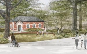 Rendering of New Prospect Park Restroom Facility